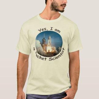 Ja bin ich ein Rocket-Wissenschaftler-T - Shirt