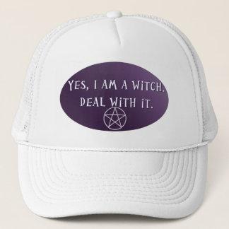 Ja bin ich eine Hexe, Abkommen mit es! Truckerkappe