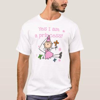 Ja bin ich eine Prinzessin T-Shirt