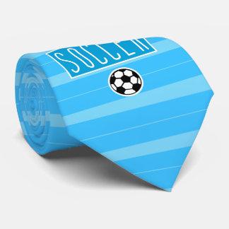 Ja bin ich, ja ich Liebe-Fußball-Krawatte Individuelle Krawatten