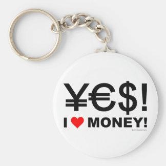 Ja! Geld der Liebe I! Schlüsselbänder