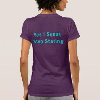 Ja hocke ich Enddas anstarren T-Shirt