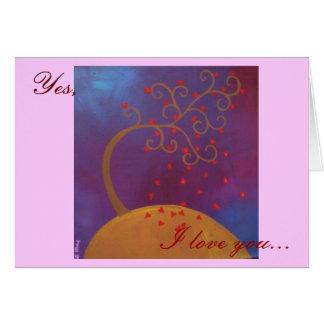 Ja i-Liebe Sie… Karte