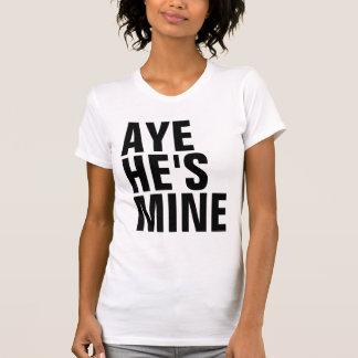 Ja ist er Bergwerk-T - Shirt