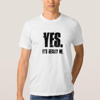 JA., ist es wirklich ich Hemden