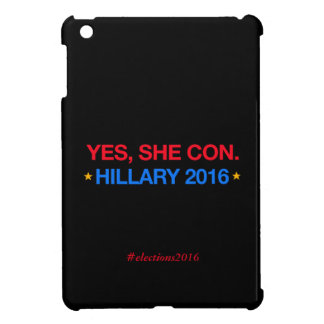ja legt sie herein. Hillary 2016 iPad Mini Hülle
