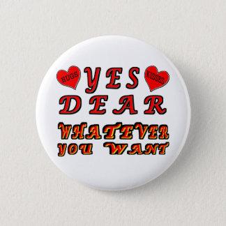 Ja lieb runder button 5,7 cm