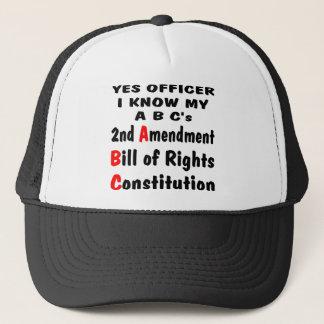 Ja Offizier kenne ich mein ein B c Truckerkappe