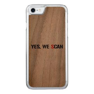 Ja scannen wir NSA-PRISMA Carved iPhone 8/7 Hülle
