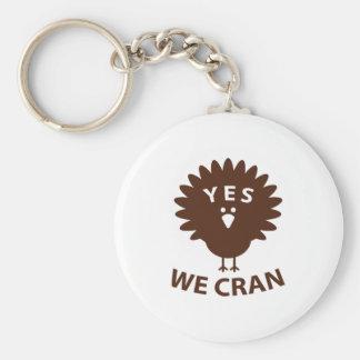 Ja wir Cran Schlüsselanhänger