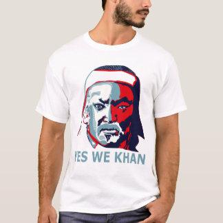 Ja wir Khan (Licht) T-Shirt