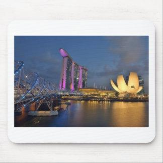 Jachthafen-Bucht versandet Luxushotel Singapur Mauspad