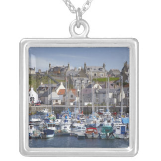 Jachthafen, Findochty, Moray, Schottland, Versilberte Kette