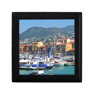 Jachthafen in Nizza, Frankreich Erinnerungskiste