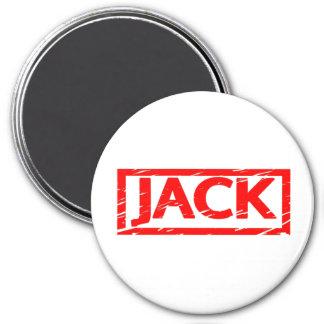 Jack-Briefmarke Runder Magnet 7,6 Cm