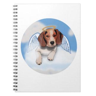Jack das Beaglenotizbuch Spiral Notizblock