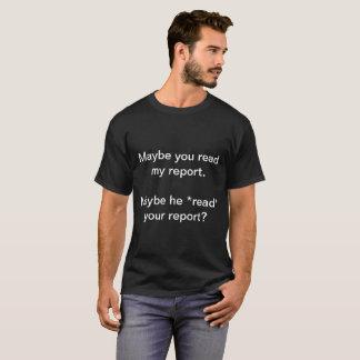 Jack liest Berichte T-Shirt