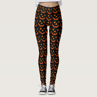 Jack-o' Laternen-Gesichtshosen Leggings
