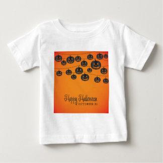 Jack O'lantern Schnur Baby T-shirt