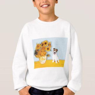 Jack Russell 11 - Sonnenblumen Sweatshirt