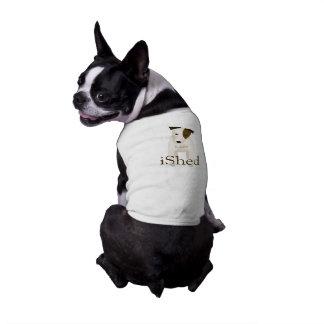 Jack-Russell-Liebhaber iShed den Namen JRT Hundes T-Shirt