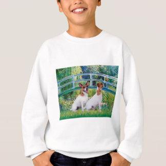 Jack-Russell-Paare 2 - Brücke Sweatshirt