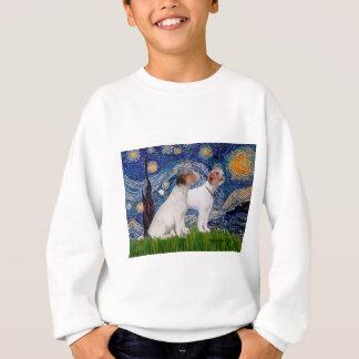 Jack-Russell-Paare 4 - Starry Nacht Sweatshirt