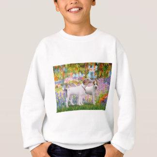 Jack-Russell-Paare - Garten Sweatshirt