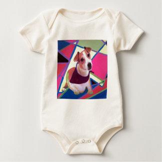Jack-Russell-Terrier Baby Strampler