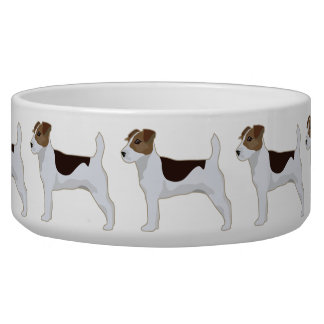 Jack-Russell-Terrier-grundlegende Napf