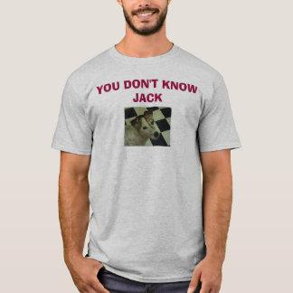 Jack-Russell-Terrier, KENNEN SIE NICHT JACK T-Shirt
