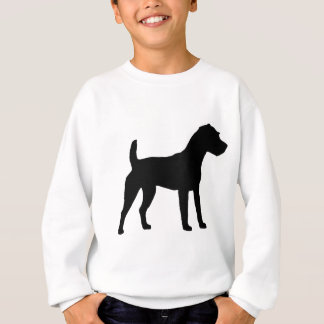 Jack-Russell-Terrier-Silhouette Sweatshirt