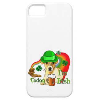 Jack-Russell-Terrier-St. Patricks iPhone 5 Cover