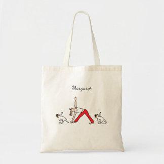 Jack-Russell-Terrier-Tricolor Yoga-Tasche Tragetasche