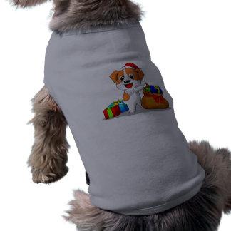 Jack-Russell-Terrier - Weihnachtshunde-Kleidung Top