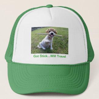 Jack-Russell-Terrier-Welpe Truckerkappe
