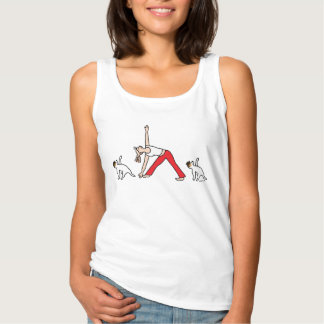 Jack-Russell-Terrier-Yoga-T - Shirt