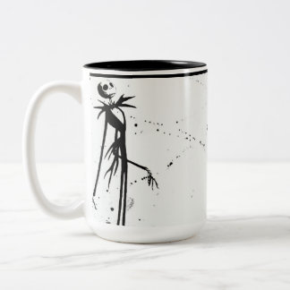 Jack-Skelett-Tasse Zweifarbige Tasse