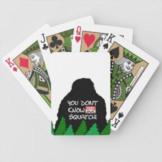 Jack Squatch Bicycle Spielkarten