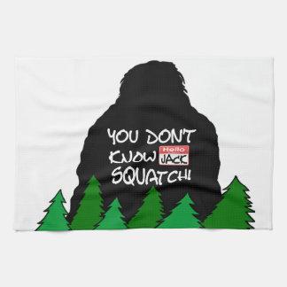 Jack Squatch Küchentuch