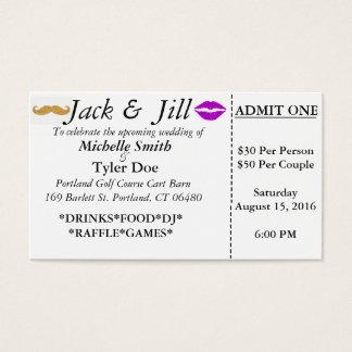 Jack-und Jill-Karten Visitenkarte