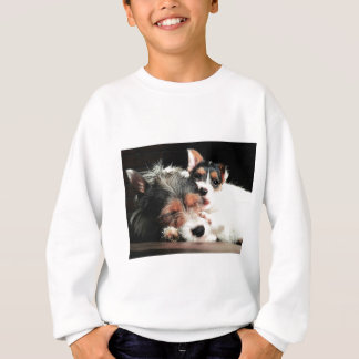 Jack-Welpen-Liebe Sweatshirt