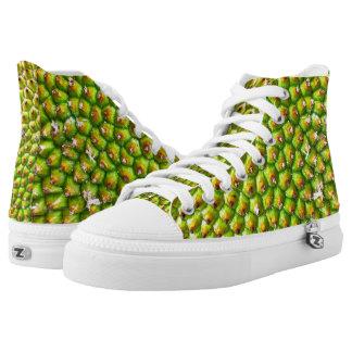 Jackfruit Zipz hohe Spitzenschuhe Hoch-geschnittene Sneaker