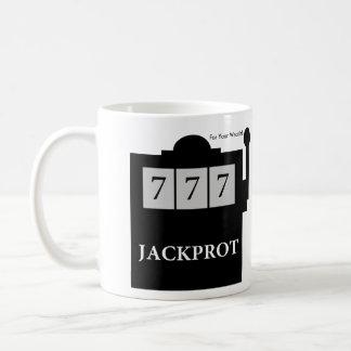 Jackprot! Schlitz-Maschinen-Dr. Steve Brule Mug Kaffeetasse