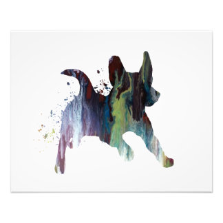 Jackrussel-Terrier Fotodruck