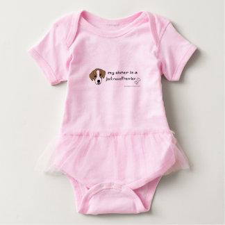 Jackrussell-Terrier Baby Strampler