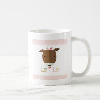 Jackrussell-Terrier Lolo-origami Kaffeetasse