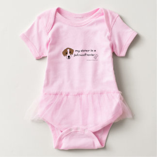 Jackrussell-Terrierschwester Baby Strampler