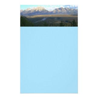 Jackson- Holeberge (großartiger Teton Briefpapier