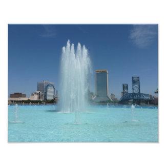 Jacksonville-Freundschafts-Brunnen-Foto-Druck